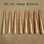 50 Cal Dummy Bullets