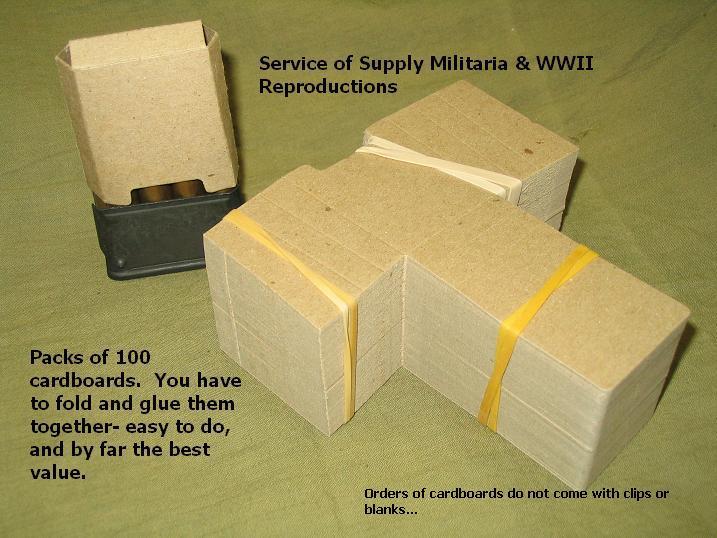 Cardboard Ammo Boxes