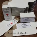 Boxes, Small Bandage Repro a