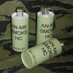 An-M8 Smoke HC.  Dummy Grenade