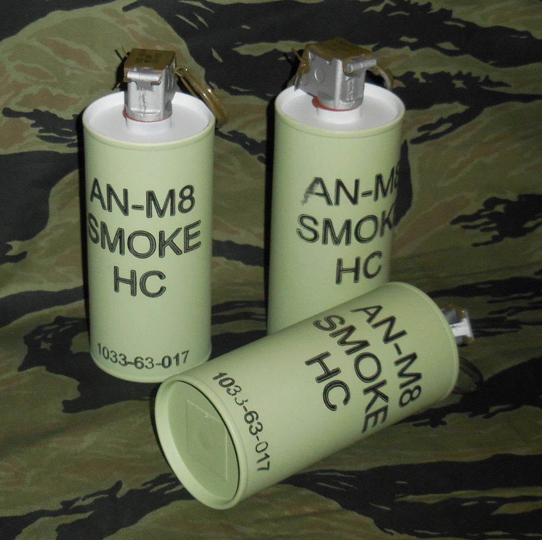 Grenade, AN-M8 Smoke HC - Reproduction