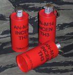 AN-M14 Incen TH3 Dummy Grenade