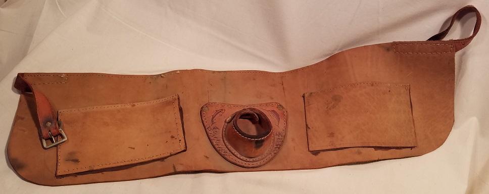 16b2f492c Vintage Leather Fishing Belt