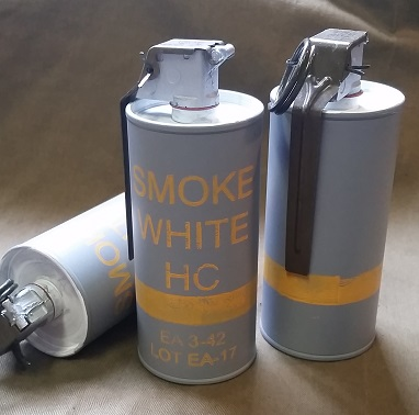 M8 HC Smoke, White, Grenade - Dummy - Reproduction