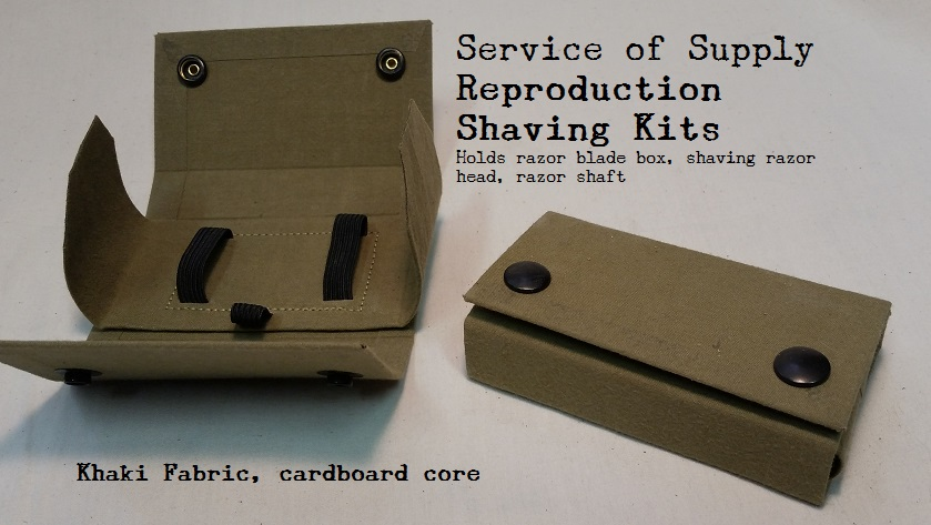 Well known WWII Reproduction Shaving Kit – SERVICE OF SUPPLY AK96