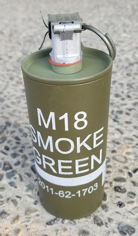 Grenade, Smoke, Vietnam Era M-18