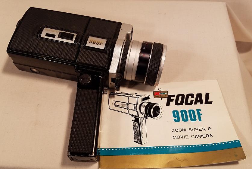 Focal 900f Super 8 Movie Camera Vintage